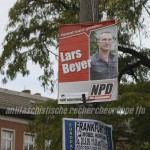 NPD hängte Wahlwerbung in Frankfurt