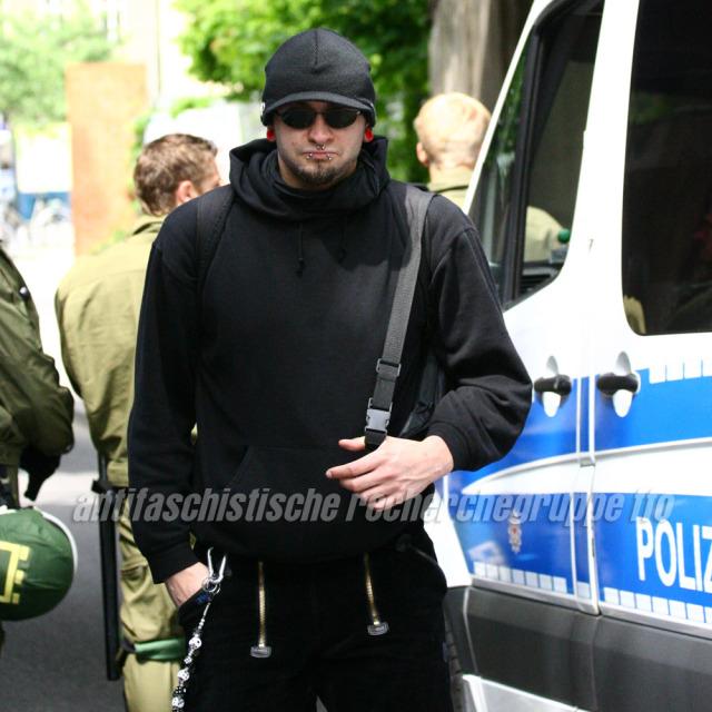 Michael Meißner am 29.Mai in Bernau.