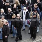 Frankfurter Neonazis demonstrieren am 10.10.09 in Berlin