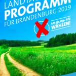 Die Preußen haben Angst vor Multikulti, aber nicht vor'm Klimawandel! - Eine Analyse zum Wahlprogramm der AfD Brandenburg